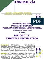 Unidad II- Cinetica Enzimatica I-2019.ppt