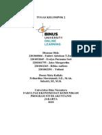 Tugas Kelompok 2 - Intermediate Accounting I