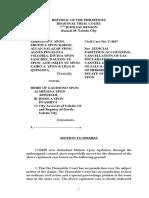 motion to dismiss erudita vs ypon