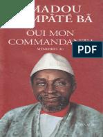 Ahmadou Hampaté Bah_ Oui mon commandant_ -1.pdf