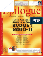Epilogue Magazine, March 2010