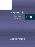 Hypertable An Open Source, High Performance, Scalable Database