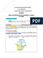 Tema 6 Concentracion de Una Mezcla