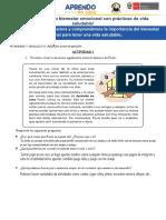 ACTIVIDAD 01 IDENTIFICAMOS LA IMPORTANCIA DE UNA VIDA SALUDABLE1