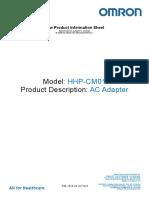 Adaptor Retea, HH-CM01, Omron