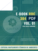 E-book Rdc 430 Vol.01 - Especial Mapeamento Térmico de Ambientes ATUALIZADO