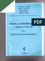 Statica constructiilor-Teorie si aplicatii - Vol 1