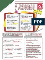 on-my-agenda-present-continuous-for-fixed-plans-grammar-drills-picture-description-exercises-readi_84577