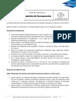 DI-INC-02 REQUISITOS DE INCORPORACION. V3