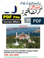 Complete Mont of July-2020 International Current affairs by Pakmcqs Official