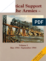 Logistical Support of the Armies Vol 1
