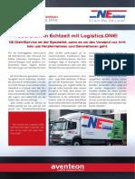 Übersicht in Echtzeit Mit Logistics.one!