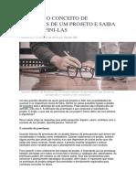 CONCEITO DE PREMISSAS