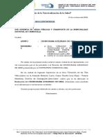 CARTA 007 DE CRONOGRAMA ACELERADO DE OBRA