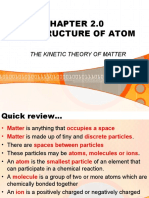 Structure of Atoms>>Kinetic theory of matter