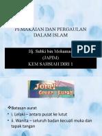 PEMAKAIAN DAN PERGAULAN DALAM ISLAM(baba)