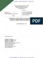 QSGIQ Third Amended Disclosure Statement 2-1-11