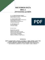 3. HERNANDEZ, SAMPIERI EL PROBLEMA DE INVESTIGACIÓN