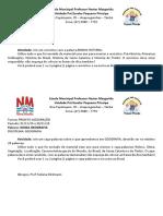 Projeto PALAVRA 9 ano-Projeto Historia e Geografia Tati