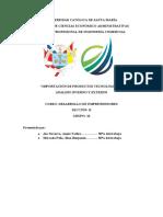 Analisis Externo y Analisis Externo- grupo 16