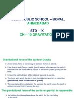 Presentation_ Ch 10 Gravitation