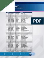 Resultados Beca Sube-T León 2020