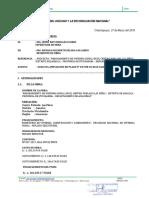 INFORME N°07-2018  SOLICITUD DE AMPLIACION DE PLAZO N°04 POR 05 DIAS CALENDARIO (1)