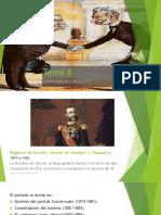 08 La monarquía de la Restauración - Presentación