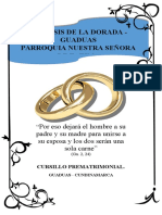 cursillo prematrimonial folleto