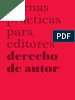 Buenas prácticas editores
