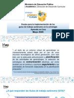 Pautas  para GTA DREA Mayo 2020 Ver 5 - Compartir.pdf