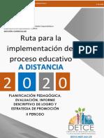 d.-Ruta para la implementación del Proceso Educativo a Distancia vf 05 10 2020