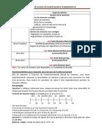 Planning  de révision SE
