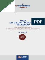 Informe Ley de Cadena de Abastecimientos