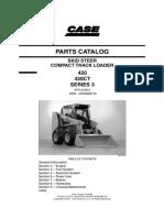 catálogo de partes case minicargador