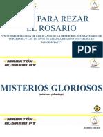 MISTERIOS GLORIOSOS - 4° MARATON DE ROSARIO PY.ppsx
