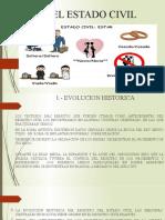 11. El Estado Civil
