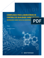 Compliance para laboratórios de controle de qualidade farmacêutico