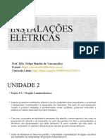 Aula 6 Instalações Elétricas - Projeto Luminotécnico