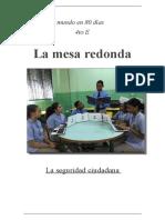 La MESA REDONDA SINTESIS FINAL- seguridad ciudadana
