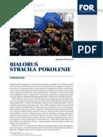 Analiza Lipiec 2010 Bialorus Stracila Pokolenie