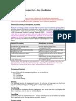 costclassificationlecturenotes