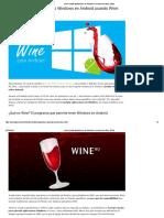 Cómo Instalar Aplicaciones de Windows en Android Con Wine (2020)