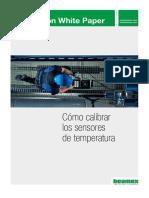 Calibracion sensor de temperatura