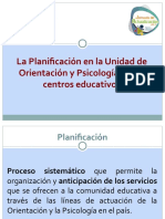 2017_Planificación en la Unidad de Orientación y Psicología (1).ppt