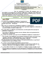 TAREA - ELABORACIÓN CUESTIONARIO HABILIDADES LINGÛÍSTICAS