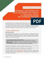 La distribution pilotée par l'entreprise française