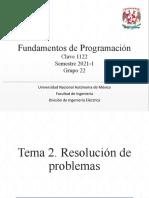 2. Resolución de problemas - Clase 8.pptx