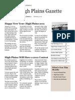 High Plains Gazette Vol 3