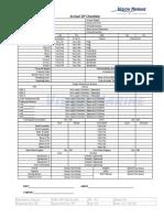 Arrival DP Checklist Annex 42 (1) PR-33